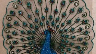 getlinkyoutube.com-How To Create a Beautiful Plastic Peacock Design - DIY Crafts Tutorial - Guidecentral