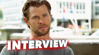 """Marvel's Avengers: Age of Ultron: Chris Hemsworth """"Thor"""" Behind the Scenes Interview"""