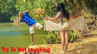 New Funny Videos 2018_Try To Stop Laughing_Pagla BaBa
