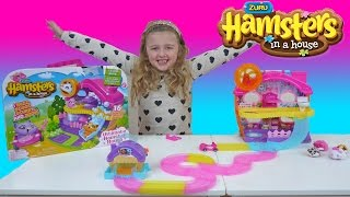 getlinkyoutube.com-HAMSTERS IN A HOUSE | Super FUN Toy hamsters | The Disney Toy Collector