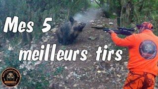 getlinkyoutube.com-TOP 5 BEST SHOTS WILD BOAR HUNTING/ sanglier 2016