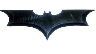 getlinkyoutube.com-3D Printing Batarang
