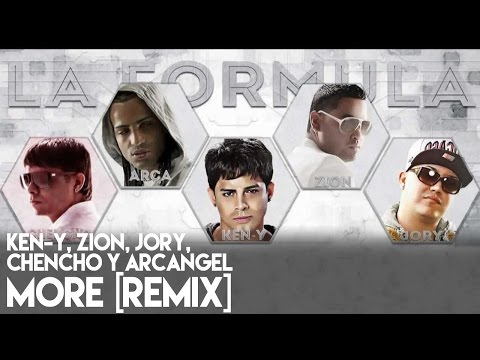 more remix official jory boy zion ken-y chencho arcangel la