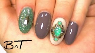 getlinkyoutube.com-Acrylic nails - Create Your Own Gemstones or Jewels (E041)