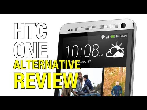 HTC One Alternative Review with iPhone 5 Comparison