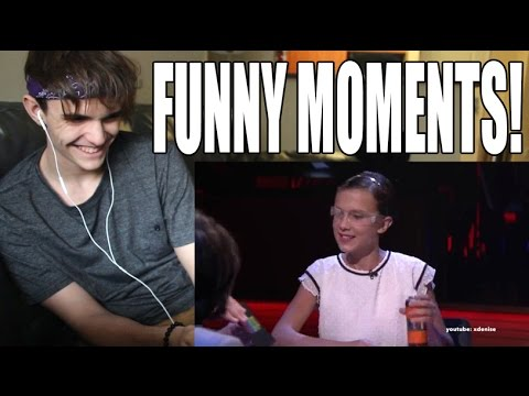 Stranger Things Cast Funny Moments