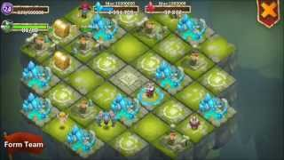 getlinkyoutube.com-Castle Clash LEVEL 24 Lost Realm With LEVEL 24 MINES