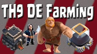 getlinkyoutube.com-Clash of Clans - How I Farmed 100k Dark Elixir in 6 Hours! - TH9 DE Farming Strategy for any League!