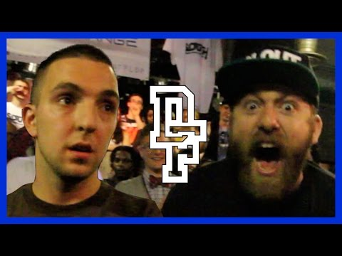 DON'T FLOP  - Rap Battle - Dirtbag Dan Vs  Arkaic