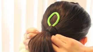 getlinkyoutube.com-トップシィテールの作り方 / トップシィテールを使ってヘアアレンジ 1