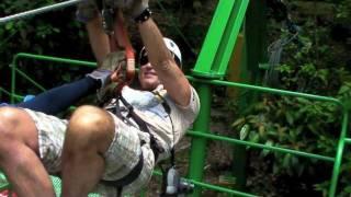 getlinkyoutube.com-Zip-Line Arenal Costa Rica Sky Adventures May 2011 Ziplining
