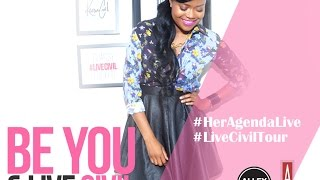 #HerAgendaLive: A Conversation With Karen Civil