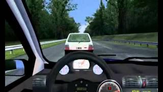 getlinkyoutube.com-rfactor Corsa hatch 99 Vs Uno fire Turbo Gameplay