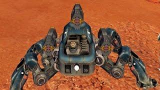 getlinkyoutube.com-Walking War Robots Spider Robot -Fujin- Gameplay Part 1