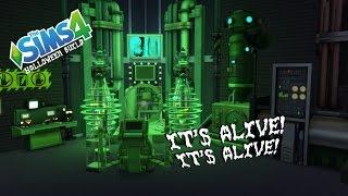 getlinkyoutube.com-The Sims 4 - Halloween Build - It's Alive! It's Alive!