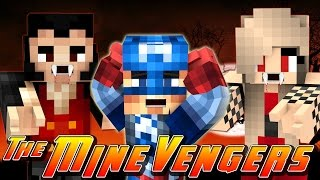 getlinkyoutube.com-Minecraft MineVengers - CAPTAIN AMERICA BECOMES A VAMPIRE!!