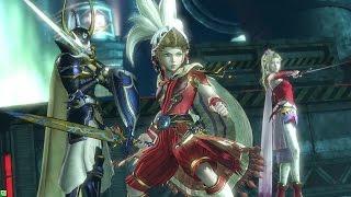 getlinkyoutube.com-Dissidia Final Fantasy New Gameplay 2015  60fps (1080p) Arcade & PS4
