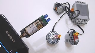 getlinkyoutube.com-Convert Audio Output into LEGO Power Functions RC Infrared Signal Part 3: Irdroid v1.0 Module