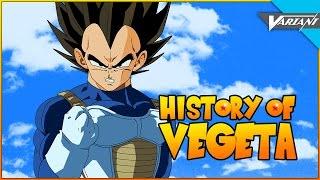 History Of Vegeta!