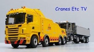getlinkyoutube.com-WSI Scania R6 Highline Falkom Recovery Truck by Cranes Etc TV