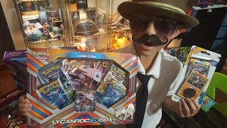 getlinkyoutube.com-Opening A Lycanroc GX Box Early From Carls Collectibles!!! EPIC First Unboxing On Youtube!!
