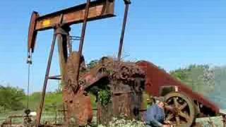 getlinkyoutube.com-Starting Old Oilwell For The First Time