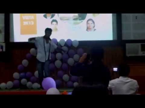 Vivek CrocRoaz Slow Motion Dance.. at NIET farewell