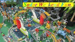 getlinkyoutube.com-Thomas and Friends Ultimate Trackmaster Dual Avalanche Escape Surprise Sodor Trains Fun!