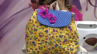 getlinkyoutube.com-Mulher.com 09/10/2014 Llia Pavan - Mochila infantil de tecido Parte 1/2