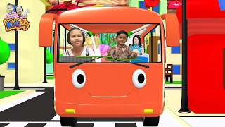 The Wheels on the Bus Go Round and Round | Songs for Children By KidsMeSong