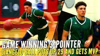 getlinkyoutube.com-Chino Hills Beats Long Beach Poly On LiAngelo Ball's GAME WINNING 3-Pointer!!