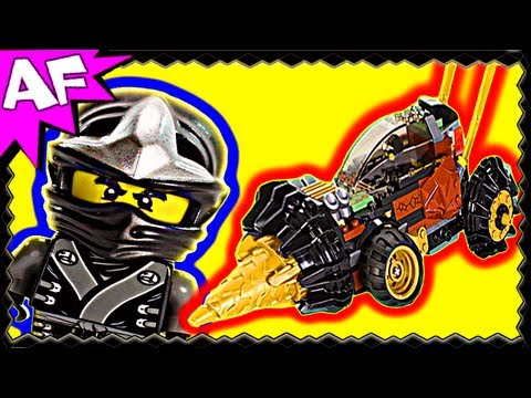 Lego Ninjago COLE's EARTH DRILLER 70502 Animated Building Review