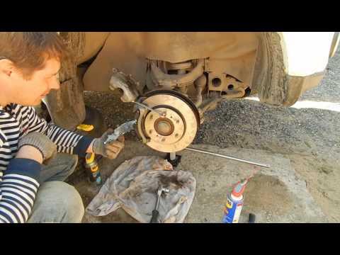 МПС замена тормозных дисков и колодок Часть 1
