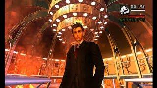 GTA San Andreas Doctor Who - CJ regenerates into 10th Doctor