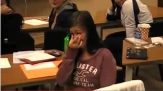 طلب منها الزواج ي المدرسة  شوفوا شو كانت ردة فعلها