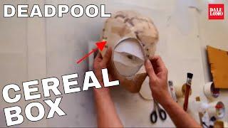 getlinkyoutube.com-#92: Deadpool Semi-Rigid Mask Part 1 - Cereal Box (template) | Costume Prop | How To | Dali DIY