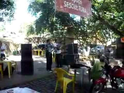 Repentistas na cidade de Triunfo-PE (Passeio da Igreja Batista ao SESC em 01/11/2009). Parte 02