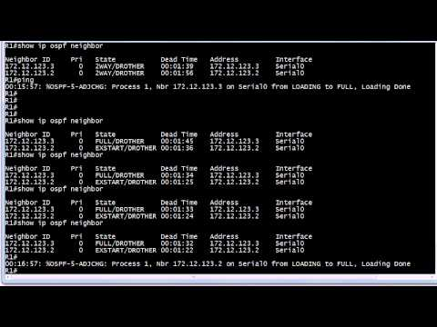CCNA Video Practice Exam: OSPF Network Types And Commands