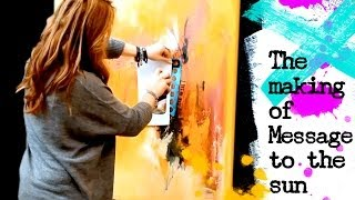 getlinkyoutube.com-Watch me paint - abstract acrylic painting demo by zAcheR-fineT