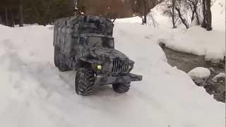 getlinkyoutube.com-URAL4320 [Through Snow]  - Part #1
