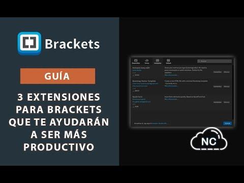 Guía: 3 Extensiones para Brackets que te Ayudarán a ser más Productivo