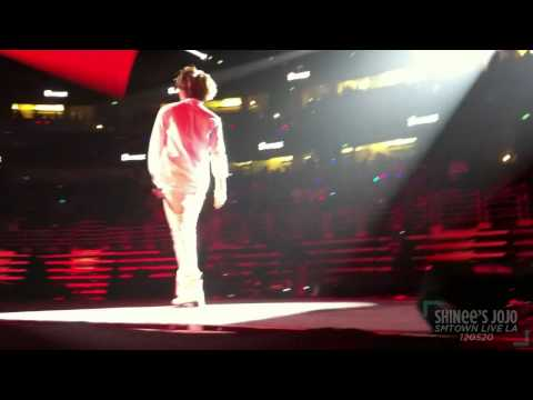 [fancam] 120520 Taemin during SHINee World @ SMTOWN LA