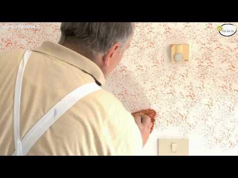 Come creare un muro spugnato tutto per casa for Muro spugnato