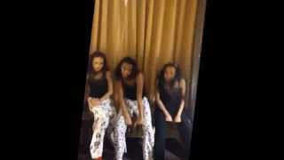 "getlinkyoutube.com-The Isaac Sisters/Beyonce's song ""7/11"" Moment"
