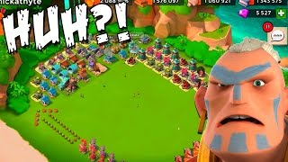 getlinkyoutube.com-Boom Beach | WACKY Hammerman Defense TRAP Base! | Does it WORK?!