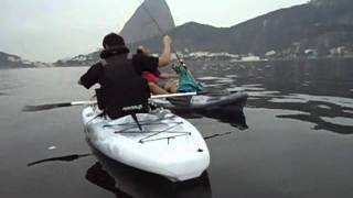 getlinkyoutube.com-PescaiaqueirosRJ - Urca -  Belo peixe Linguado