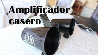 getlinkyoutube.com-Cómo hacer un amplificador casero para el móvil o celular (Experimentos caseros)