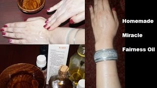 getlinkyoutube.com-Miracle Fairness Oil for White Glowing Face & Body - In Just 2 Weeks
