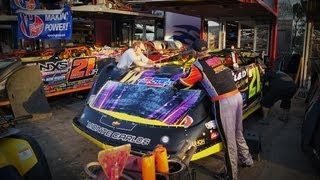 getlinkyoutube.com-Volusia Dirtcar Nationals World of Outlaws Late Model Feature Feb 22 2013