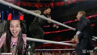 getlinkyoutube.com-WWE Raw 12/14/15 Roman Reigns vs Sheamus